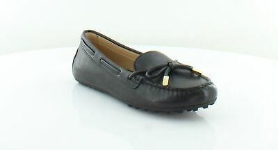 c88ccbb3cde99 MICHAEL KORS DAISY Moc Black Womens Shoes Size 9 M Flats MSRP $99 ...