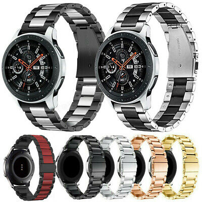 For Samsung Gear S3 Frontier/Classic/46mm Stainless Steel Wristband Band Strap
