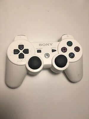 PlayStation 3 Sony Official Dualshock 3 Sixaxis Wireless Controller - White