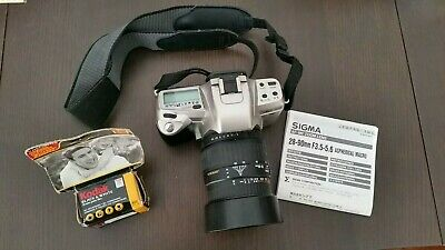Pentax MZ-60 35mm Film Camera with Sigma 28-90mm F3.5-5.6 lens