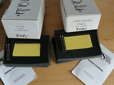 1985 paul reed smith standard t & b reissue pickups set pair discontinued  nos