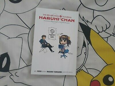 Manga The Melancholy of Suzumiya Haruhi-chan Volume 1
