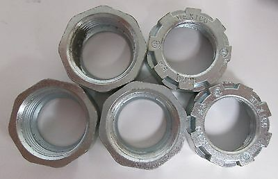 "(5) Raco 3/4"" Metal Threaded Pipe Fitting 1103 301A"