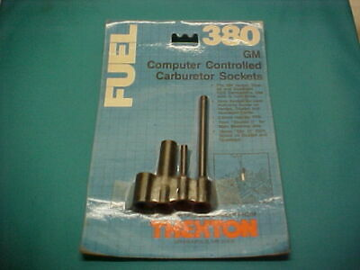 81 Vette 1980s Trans Am Hurst Olds Monte Carlo E4ME Rochester CCC Carb TPS Tools