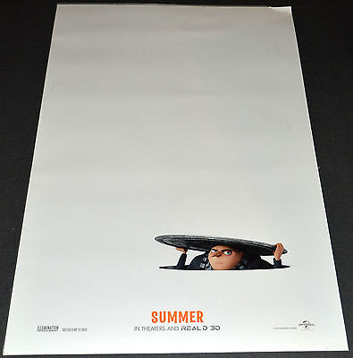 *DESPICABLE ME 3* 2016 ORIGINAL ADVANCE DS 27x40 MOVIE POSTER! ANIMATION CLASSIC