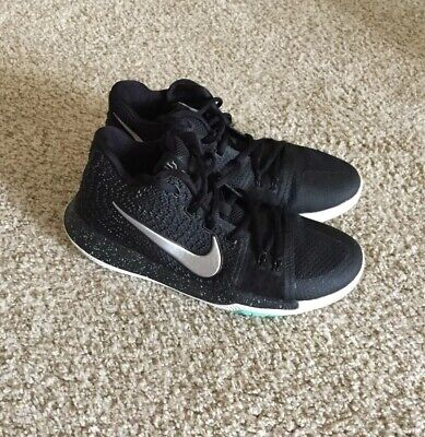 size 40 7be13 aa493 Nike Kyrie 3 GS Black Ice Youth Basketball Shoes. Size 7Y