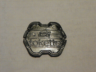 Lot of 200 Black Type I Tokettes Greenwald Industries GI Tokette Laundry Tokens