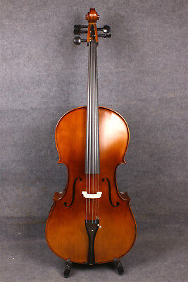 Cello 4/4 5 strings Fine Tone Hand Carve Solid wood Maple Spruce