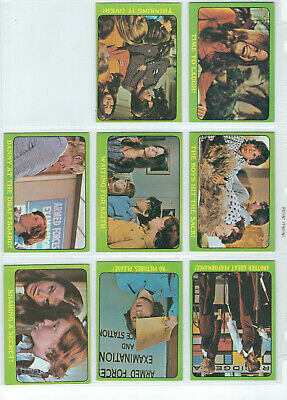 Scanlens Partridge Family - Trading Card LOT of 8 - 1971 - See Scans