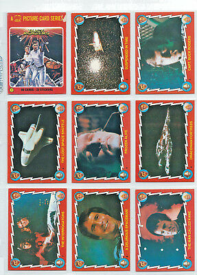 Scanlens Buck Rogers in the 25th Century - Complete Card Set (88) - 1979 - NM