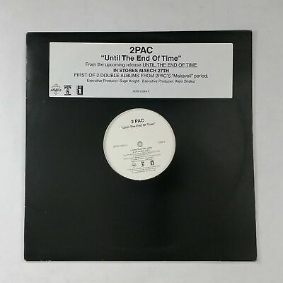 "TUPAC (2 PAC) Until The End Of Time INTR103441 12"" Vinyl VG++ Cvr VG+nr++ Hype"