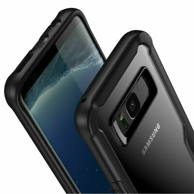 Clear Shockproof Hybrid Bumper Case Cover For Samsung Galaxy S9 S8 S10 Plus S10e