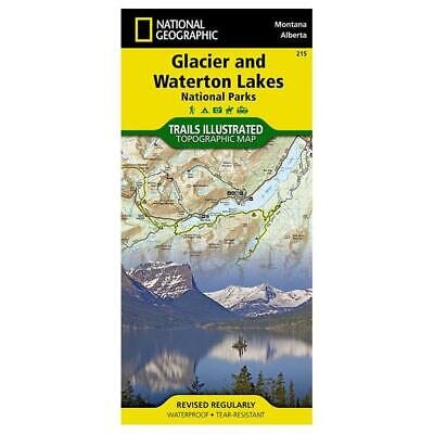 National Geographic Glacier/Waterton Lakes #215 by Montana - 215