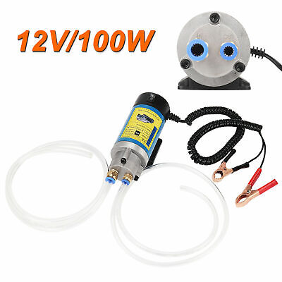 New 100W 12V Electric Oil Transfer Extractor Fluid Diesel Pump Siphon Car