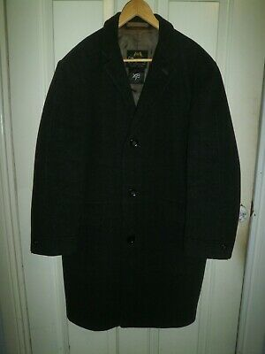 Vintage Pure Wool Long Coat ~ Quality Garments By Texport Of Melbourne