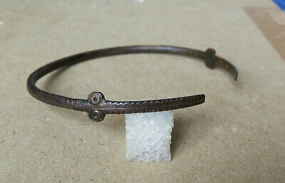 SUPER RARE Ancient Bronze bracelet ** ANT-EATER ** Scythian 1100-800 BC.