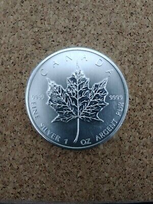 2011 Canadian Silver Maple Leaf 1oz Coin