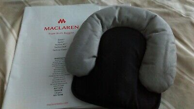 BRAND NEW maclaren head hugger from birth grey/black