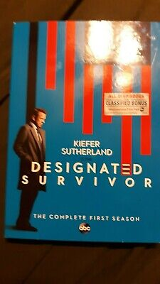 Designated Survivor: The Complete First Season [New DVD] 2 Pack