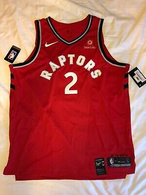 0e55a3a0c6b8d Kawhi Leonard Authentic Nike Jersey Red Icon Edition Jersey Toronto Raptors-  52