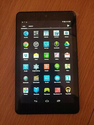 """Dell Venue 8 3840 16GB Wi-Fi 8"""" T02D Black Android tablet for kids faulty camera"""