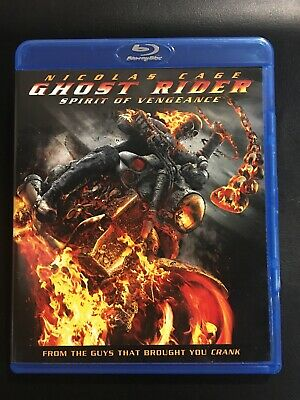 Ghost Rider: Spirit of Vengeance (Blu-ray Disc, 2012, Includes Digital Copy...