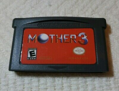 Mother 3 (Nintendo Game Boy Advance, 2006) Fan Made English Version/Works 100%