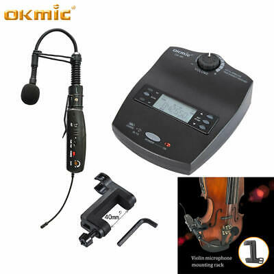 UHF Professional Wireless Microphone for Violin Saxophone Trumpet Guitar