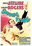Swing Time Dvd Used Fred Astaire & Ginger Rogers Classic Musical
