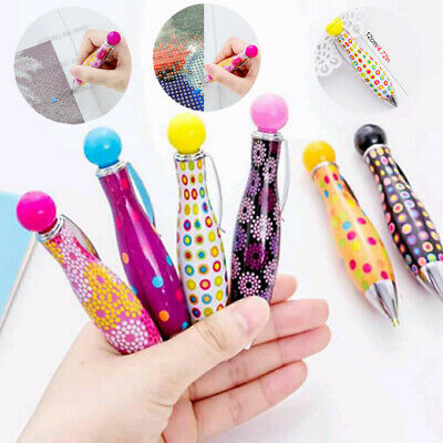 Mosaic Embroidery Accessories Cute Pen Point Drill Pen Diamond Painting Tools US