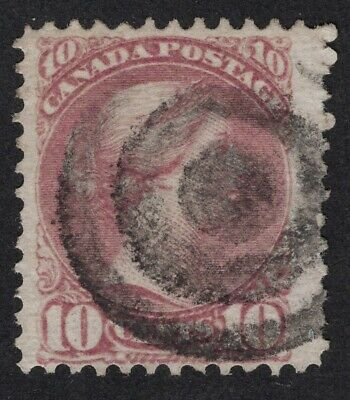 CANADA  #40a 10c magenta  12P   JUMBO SMALL QUEEN ISSUE  1880 F-VF
