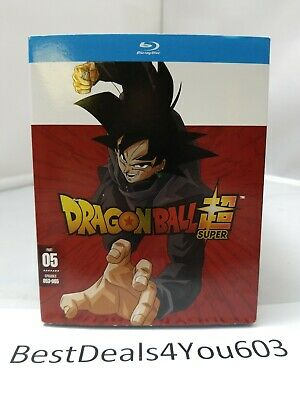DRAGON BALL SUPER PART 5 BLU RAY + SLIPCOVER SLEEVE EPISODES 53-65 Region A NEW
