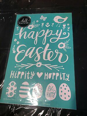 Chalk Couture Transfer, Happy Easter, RARE HTF