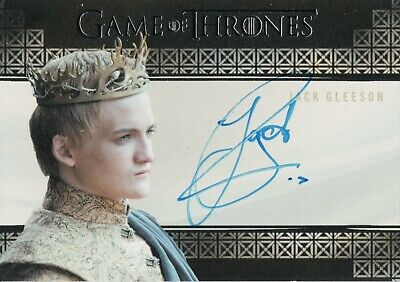 Game of Thrones Inflexions, Jack Gleason 'Joffrey Baratheon' Autograph Card
