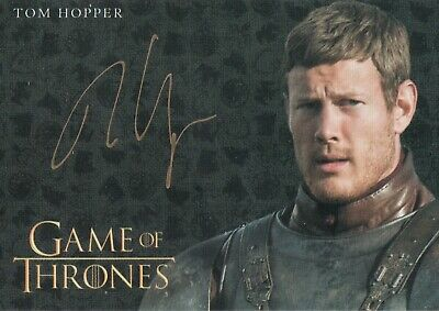 Game of Thrones Inflexions, Tom Hopper 'Dickon Tarly' Autograph Card