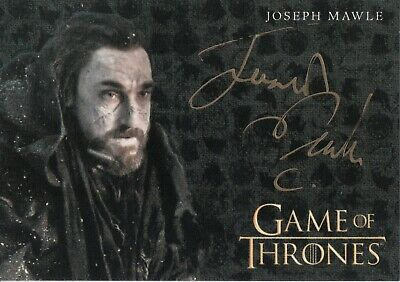 Game of Thrones Inflexions, Joseph Mawle 'Benjen Stark' Autograph Card