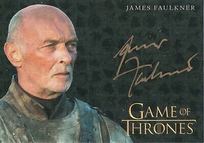 Game of Thrones Inflexions, James Faulkner 'Randall Tarly' Autograph Card