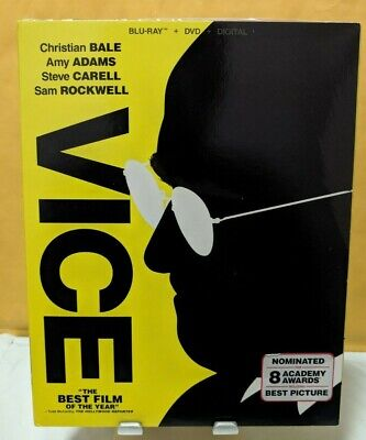 Vice [Bluray+Dvd Discs Only!!!] [No Digital] W/Slipcover
