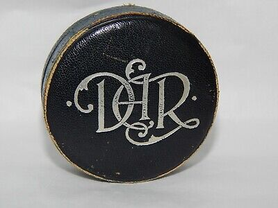 Ooak Leather Dar Pin Box By Je Caldwell Philadelphia, Pa - One Of A Kind Listing