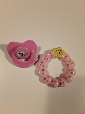 Baby Chou Chou Doll Accessories Dummy And Teething Ring