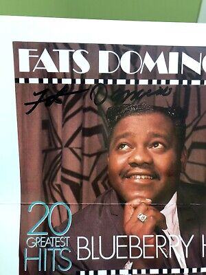 Fats Domino Autographed Signed 8x10 Photo