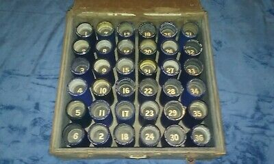 36 Edison Amberol / Blue Amberol 4-Minute Cylinder Records and FREE Storage Case