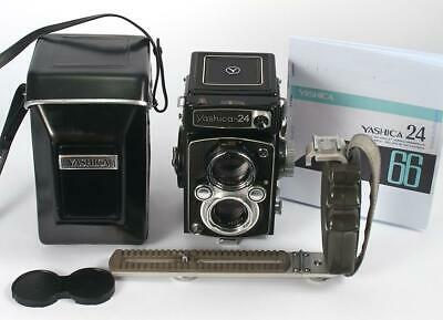 Yashica Mat-24 Camera & Case 120 or 220 Film - New Seals - Great Lens - All OK