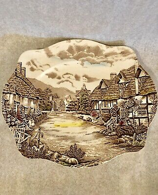 """Johnson Brothers Old English Countryside Dinner Server Plate 12"""""""