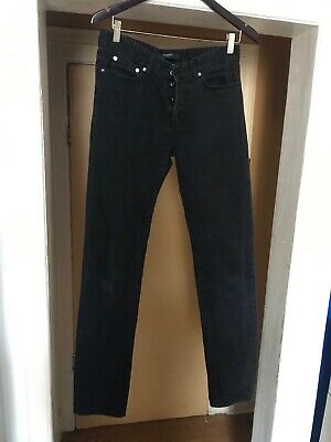Givenchy Stars Black Slim Fit Jeans Size 30 Authentic