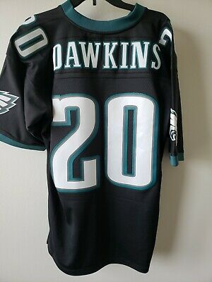 outlet store 22a02 15269 NEW PHILADELPHIA EAGLES Brian Dawkins Mitchell & Ness Throwback 2004 L  Jersey