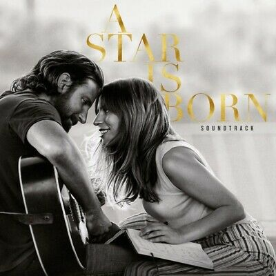 A STAR IS BORN Soundtrack CD Target Exclusive Poster- Lady Gaga & Bradley Cooper
