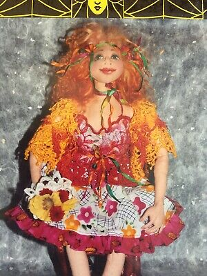 Cloth Doll Sewing Pattern - Patti Culea beautiful sculpted face toy gift craft
