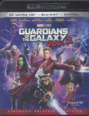 Guardians Of The Galaxy Vol. 2 (4K Ultra Hd/Bluray)(2 Disc Set)(Used)
