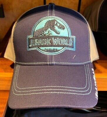 1a92a8934 Universal Studios Jurassic World Honeycomb Two Tone Baseball Cap Hat New